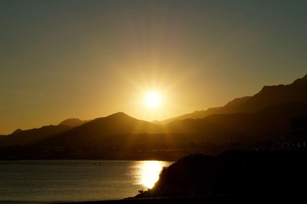 Kreta kvällsljus 1