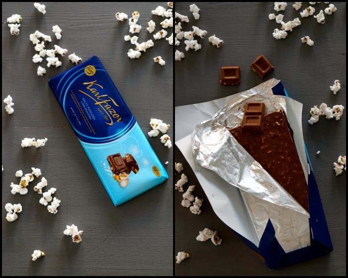 Popcornchoklad