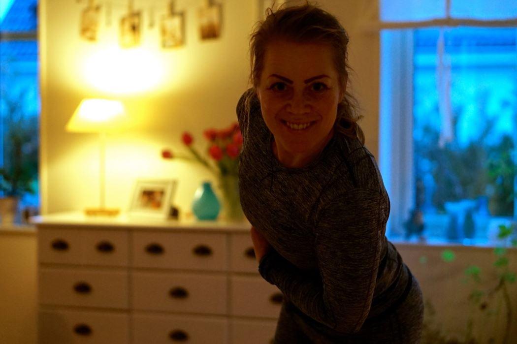 Karin om yoga
