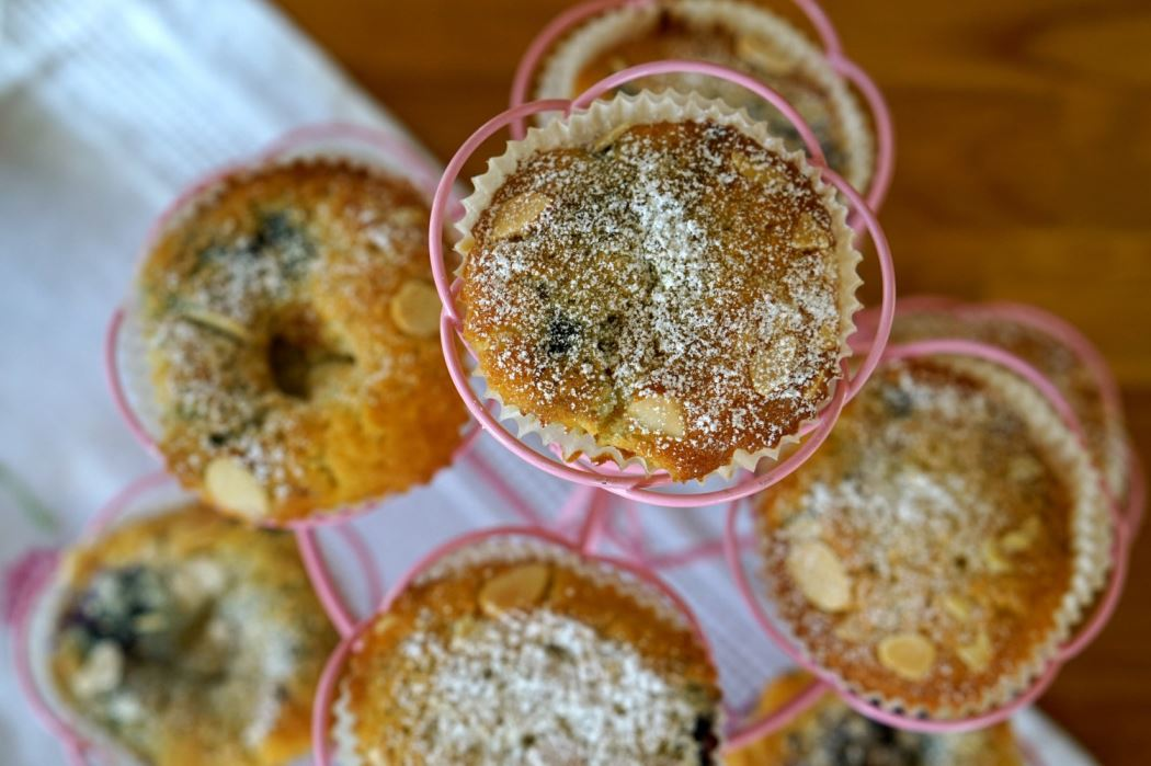 Blabarsmuffins recept