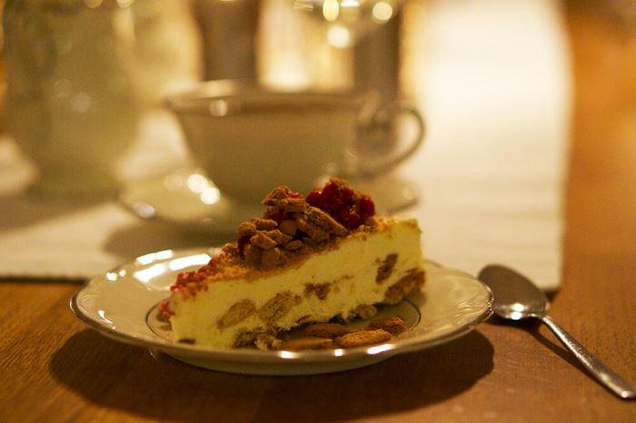 Recept på pepparkakscheesecake