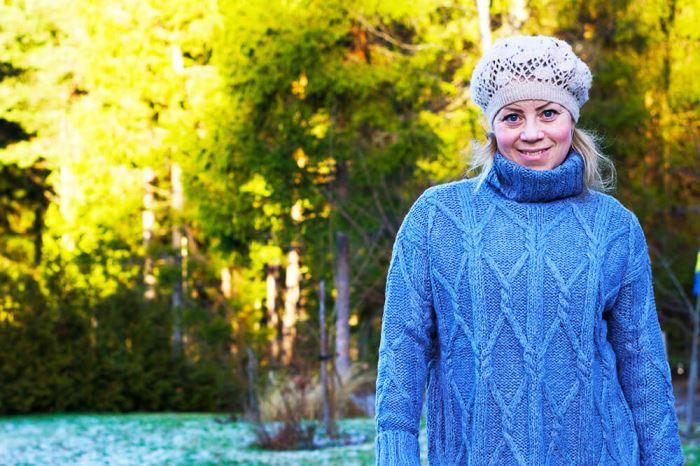 Karin Axelsson - på väg till en tjejhelg i Göteborg