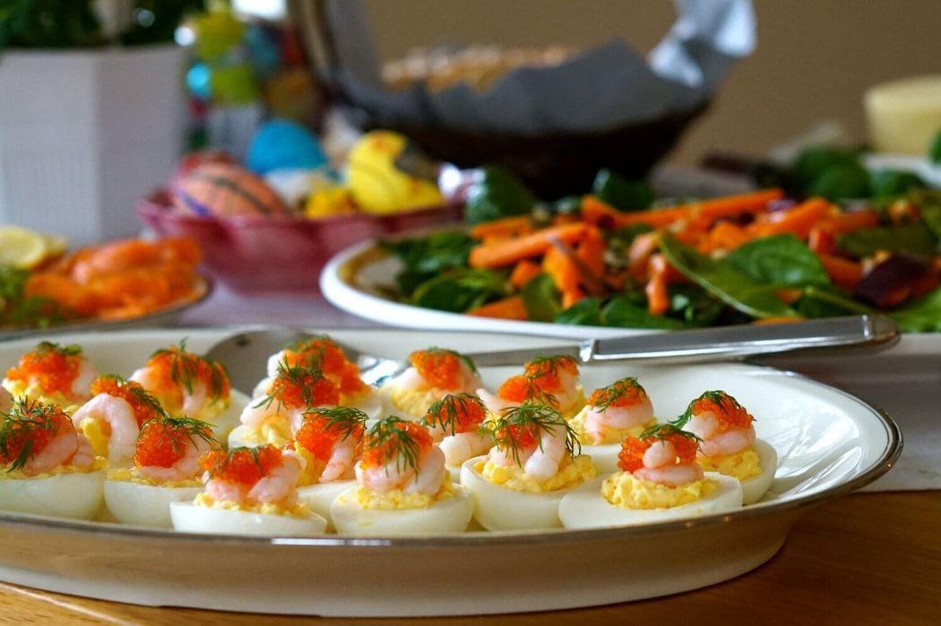 Påskmat ägg