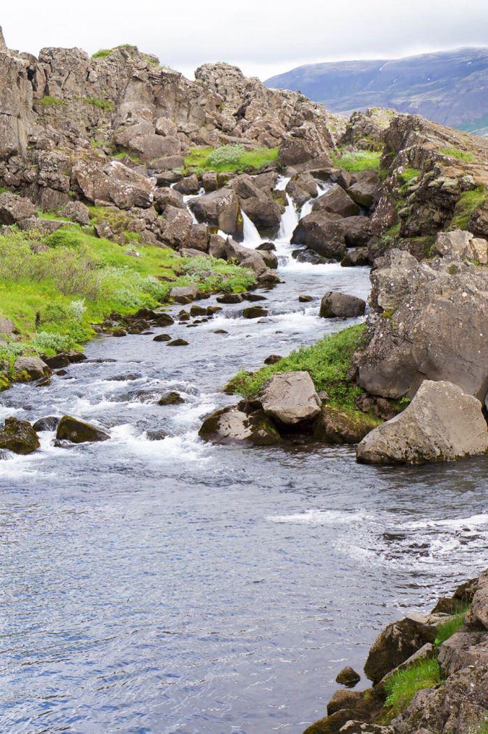 Pingvellir Nationalpark på Island
