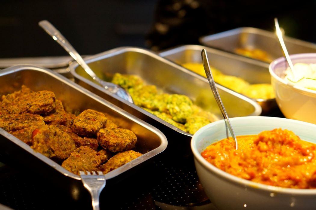 vegetariska biffar och bollar från Garant