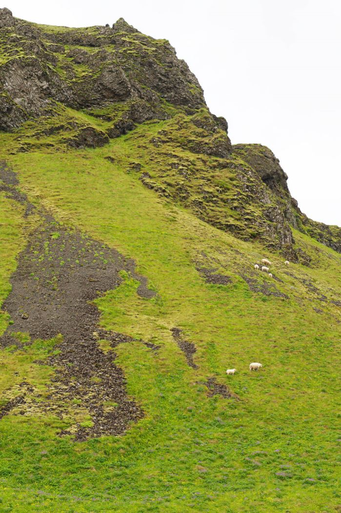 Skogafoss vattenfall på Island