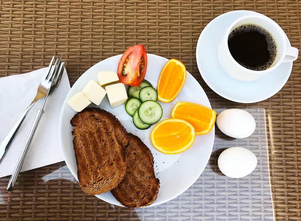 Frukost på Club Salima, Kemer, Turkiet