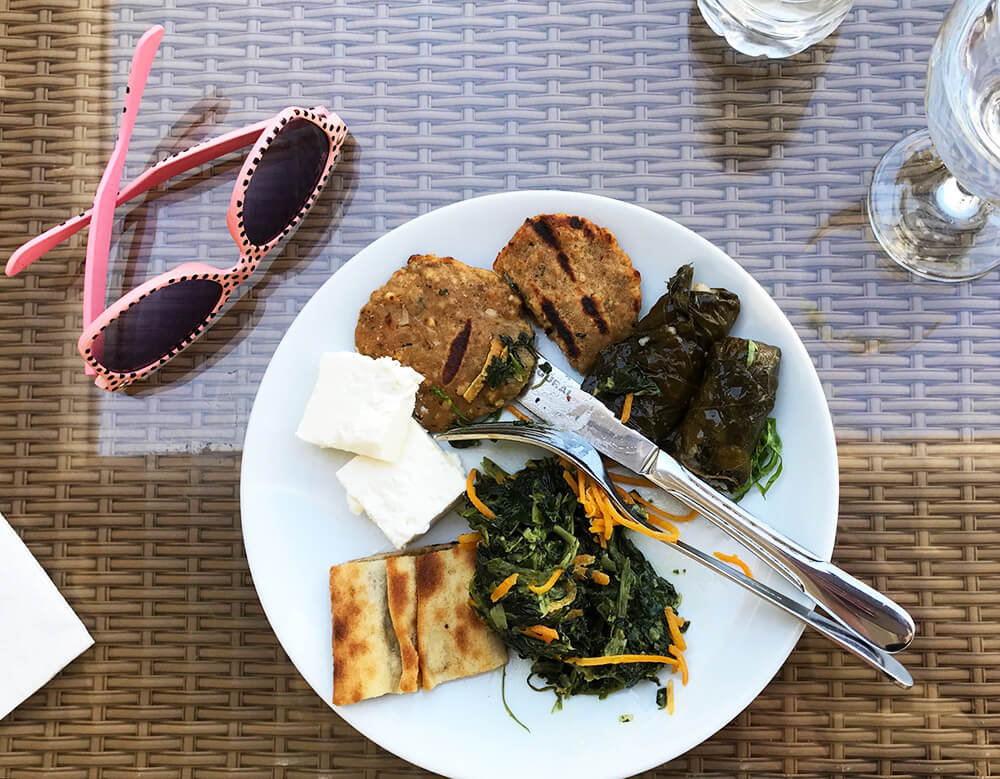 Lunch på Club Salima, Kemer, Turkiet