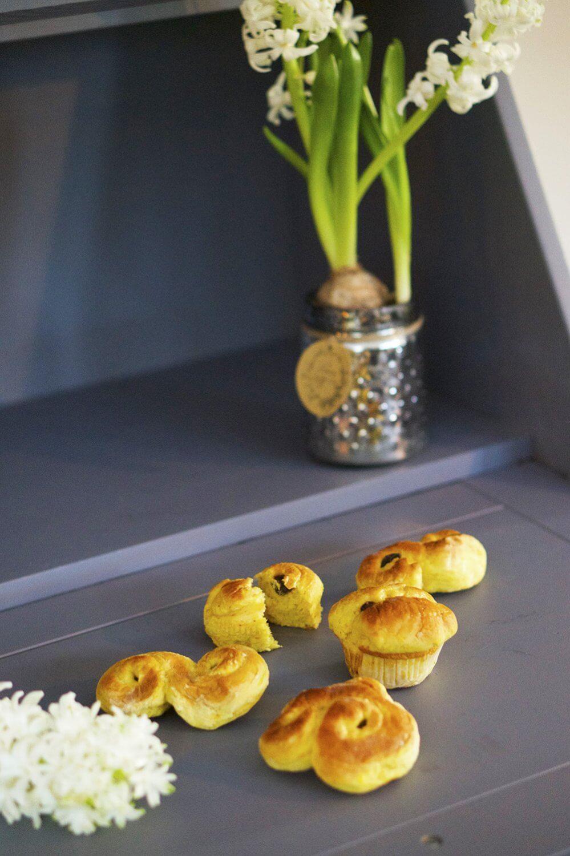 Lussekatter och hyacinter
