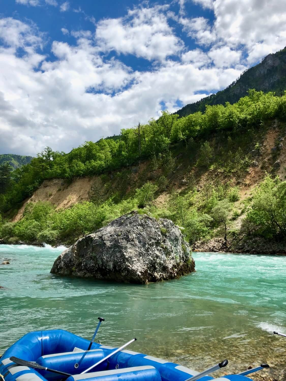 Forsränning med Pineberry i Montenegro