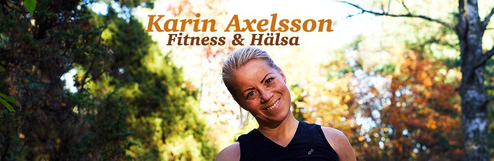 Karin Axelsson Fitness & Hälsa header