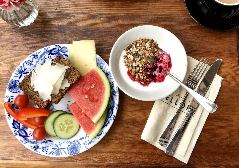 Frukost på hotell Belora i Göteborg