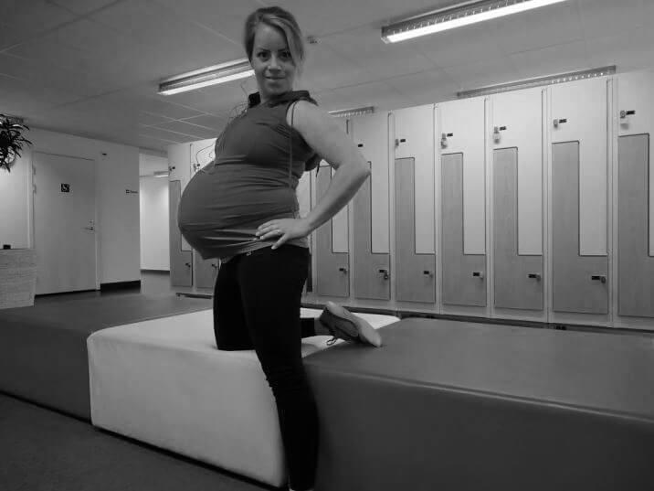 Karin Axelsson gravid